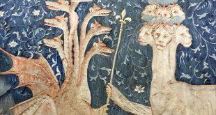 Tenture de l'Apocalypse, Château d'Angers (détail).